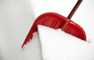 Shovel for snow removal
