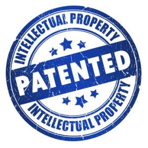 Patented intellectual property stamp