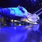space shuttle exhibit