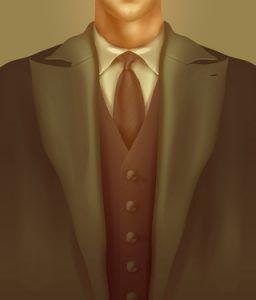 Gentleman. Vector format