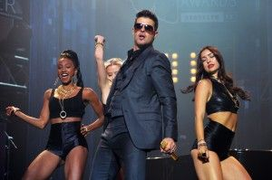 MTV And Time Warner Cable Present The 2013 MTV VMAs Concert To Benefit LifeBeat Featuring Robin Thicke & House DJ Mayer Hawthorne