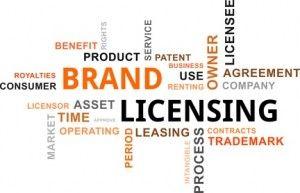 word cloud - brand licensing