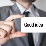 Good idea on a business card