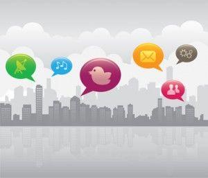 Social media city