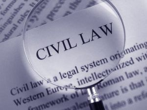 Terms of civil law