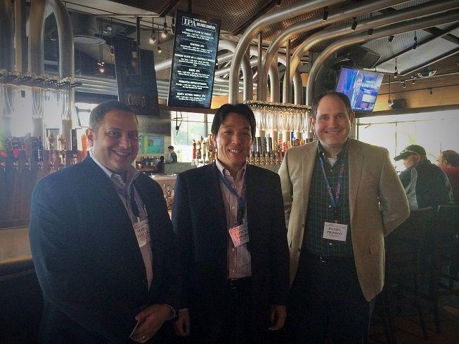 Mark Malek, Dan Pierron and Tatsuya Sawada