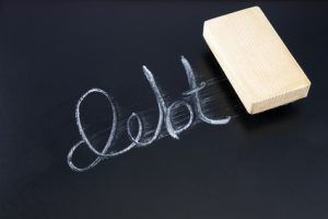 Erasing Debt