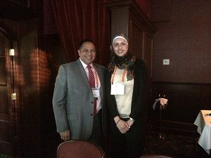 Attorney Mark Malek Hosts Attorney from Jordan