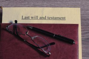 last will and testament glasses pen