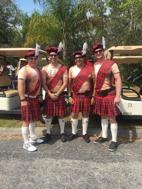 wacky tacky golf costumes