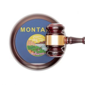 USA legal system conceptual series - Montana